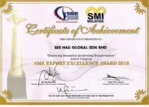 2013 Export Excellent Award